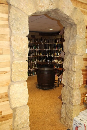 Brewski Barn and Wine Cellar - inside